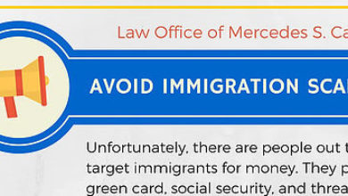 Avoid Immigration Scams