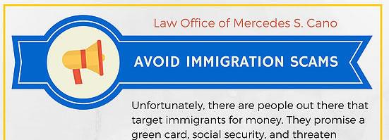 Evite los fraudes de inmigración