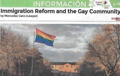 Q&A Featured on El Diario's Special Festival De Las Flores Edition