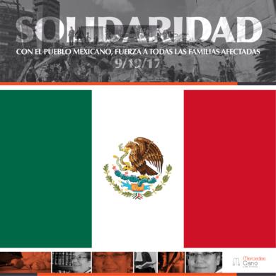 MANOS A LA OBRA PARA AYUDAR A LA VÍCTIMAS DEL TERREMOTO EN MÉXICO